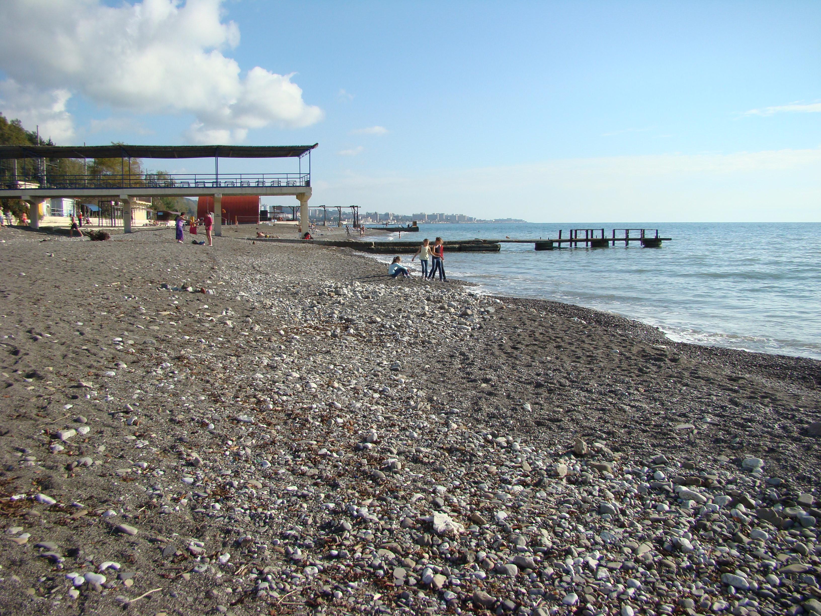 Отдых в хосте фото пляжей и набережной